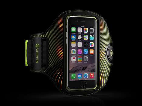 Visibility-Focused Armbands - Griffin Technology's LightRunner Universal Armband Keeps Runners Safe