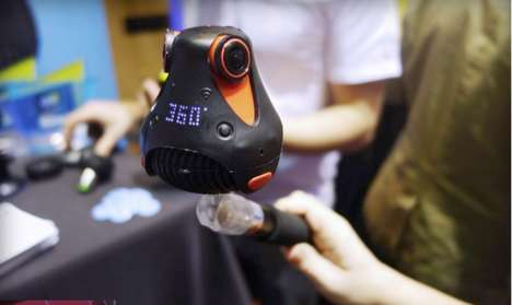 Comprehensive HD Cameras - The Giroptic 360cam Reveals YouTube Support at CES 2015