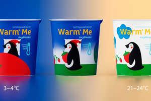 Malygina Marina's Yogurt Container Design is Animated