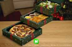 Festive Pizza Packaging