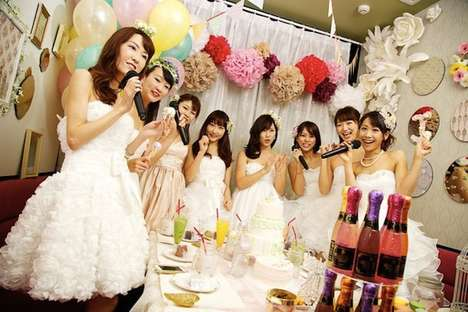 Wedding Karaoke Pop-Ups - This Fun Karaoke Station Helps You Put on a Performance & a Wedding Dress
