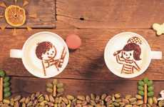 Stop Motion Latte Ads