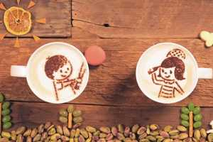Aijinomoto General Foods's Latte Art Animation Adorably Tells a Love Story