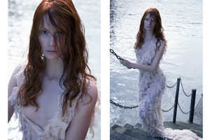 Glassbook Magazine's Couture Fashion Editorial is Ocean-Themed