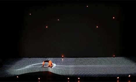 Digital Dance Performances - Adrien Mondot and Claire Bardainne Uses Breathtaking Projection Mapping