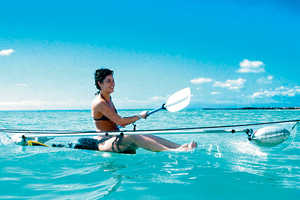 This Canoe Enhances Your Journey Through the Ocean