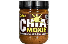 Nutty Superfood Spreads - New York Superfoods' Healthy Peanut Butter Includes Crunchy Chia Seeds