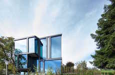 Sculptural Glass Dwellings