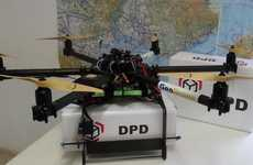 Parcel Delivery Drones - The GeoDrone is Being Tested By French Mail Service La Poste
