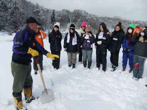 Snow Shoveling Tours - This Unusual Winter Tour in Japan Has City-Dwellers Get Out & Shovel Snow