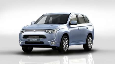 Outlandish Hybrid Vehicles - The Mitsubishi Outlander PHEV Uses Vehicle-To-Home Power Technology