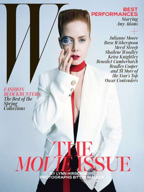 Cinematic Cover Shoots - W Magazine's Movie Issue Stars 39 Oscar Hopefuls
