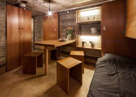 Beautified Bomb Shelters - The Bunker Pavilion is a Reclaimed Refuge with Contemporary Comforts