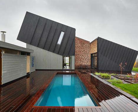 Tilted Carbon-Neutral Architecture