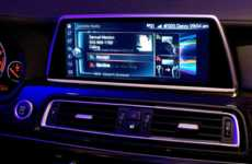 Gesture Recognition Interfaces - BMW Debuts a Gesture Recognition Interface for CES