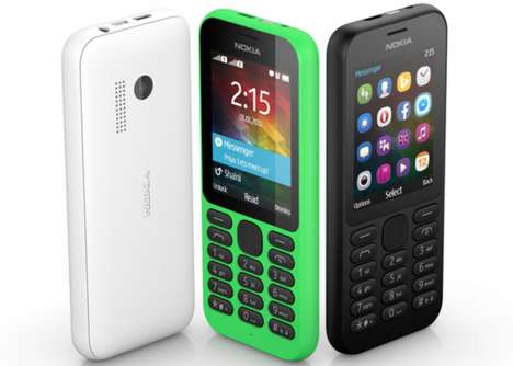 Budget-Friendly Internet Phones - The $29 Nokia 2015 Was Introduced At CES 2015