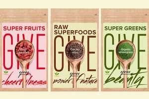 Nutriboost's Healthy Packaging Designs Show the Power of Superfoods