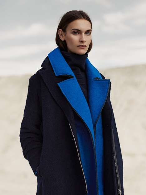 Understated Outerwear Editorials - ELLE Norway's Fia Ljungstrom Photoshoot is Effortlessly Cool