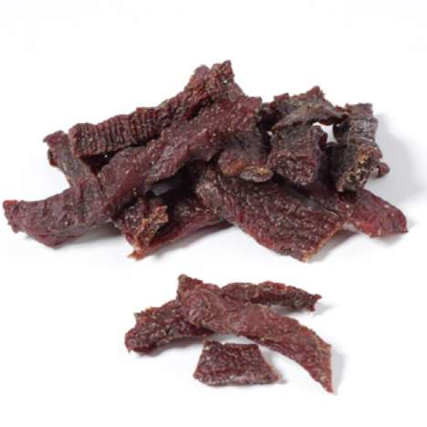 Wholesome Meat-Eater Treats - Beef Steak Sticks Make Great Protein-Rich On-the-Go Eats