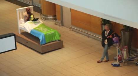 Comical Check-In Campaigns - Kulula Shows How Convenient a Self-Serve Airline Check-In Can Be