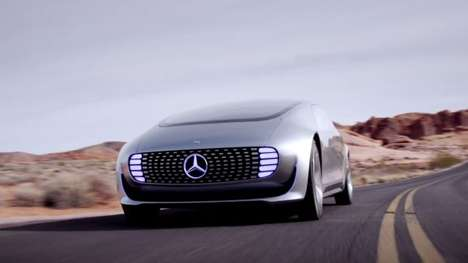 Revolutionary Auto Announcements - The Mercedes Benz F 015 Luxury in Motion Concept Stuns at CES