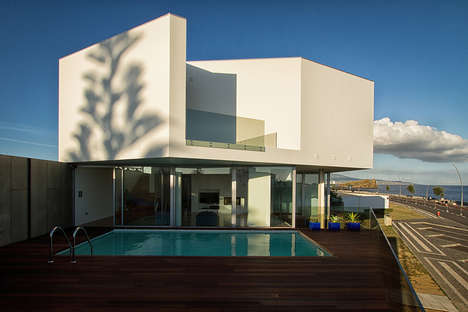 Volcanic Island Abodes - This Portuguese Architecture Firm Completed a Gorgeous Island Property