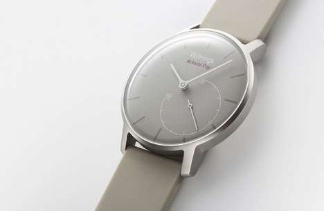 Wallet-Friendly Fitness Watches - The Withings Activite Pop is Functional, Attractive and Affordable