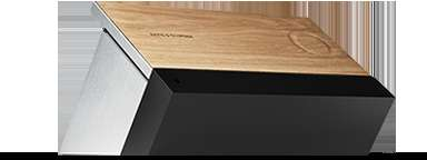Wooden Touchscreen Speakers - BeoSound Moment Features a Beautiful Wooden Surface for Interaction