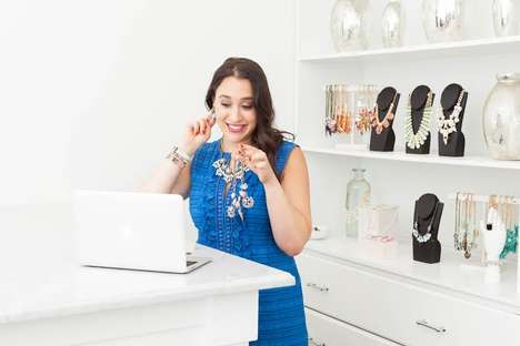 Online Jewelry Consultations - Bauble Bar Pairs Its Web Shoppers with a Personal Stylist
