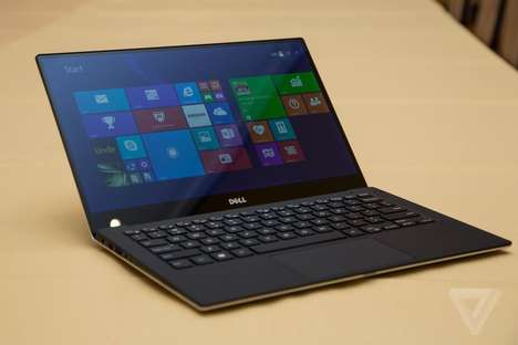 Infinity Display Laptops - The Dell XPS 13 Debuts an Impressive Screen at CES 2015