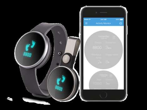 Simplistic Fitness Trackers - This Sleek and Sophicated Tracking Device Covers the Basics