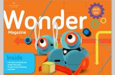 Children's Robotics Publications - Wonder Workshop Announced the Wonder Magazine Launch at CES 2015