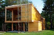 Sustainable Forest Homes - Passive House Che is Located In a Romanian Forest