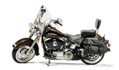Blessed Motorbike Auctions - This Harley-Davidson FLSTC 103 Has Been Blessed By Two Popes
