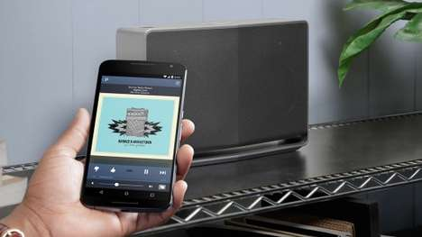 Wireless Audio Streaming Services - Google Cast For Audio Allows Users To Stream Internet Audio