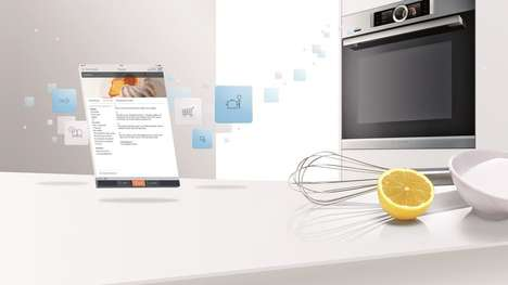 Household Appliance-Connecting Apps - The Bosch Home Connect App is Being Highlighted at CES 2015