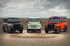 Limited Edition Jeep Models - The Land Rover Defender Celebration Series Honors a Lasting Legacy