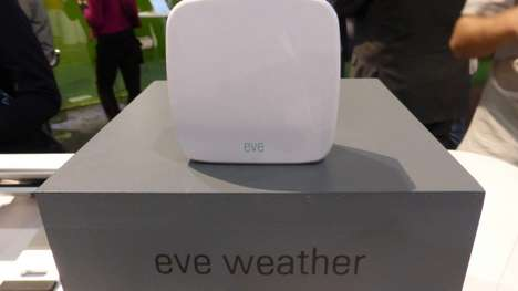 Efficient Smart Home Monitors - The Eve Elgato Series Keeps Tabs on Your Home and Its Surroundings