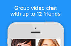 Group Video Apps - Rounds is a Group Video Chat App to Connect with 12 Buddies at Once