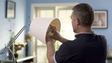 Intruder-Spotting Illuminators - A Facial Recognition Lightbulb Has Been Designed for Home Security