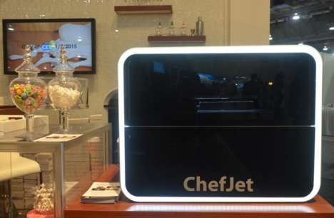 3D Candy Printers - The ChefJet Printer Series Creates Delicious Candy Concoctions