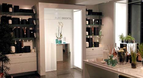Experiental Scent Bars - Habitat Pure's Fragrance Bar Provides a Multi-Sensory Experience
