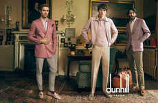 Iconic Gentleman Campaigns - Annie Leibovitz Captures the Latest Dunhill Menswear Campaign
