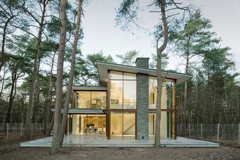 Modern Forest Homes - Engel Architekten Designs a Stunning House that Blends Into Its Surroundings
