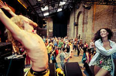 Morning Dance Parties - Morning Gloryville in Montreal Provides Dance and Yoga First Thing