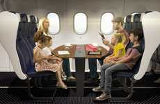 Family Flying Cabins - Thomson Airways Aims to Make Family Travel More Comfortable
