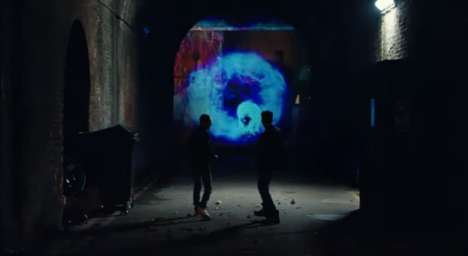 Virtual Portal Pranks - Pepsi's Time Tunnel Provides a Shocking Surprise in the City
