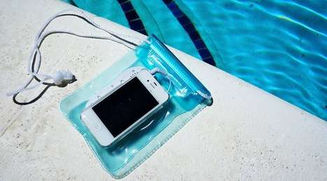 50 Waterproof Tech Products - From Floating Tablet Covers to Submersive Sound Systems