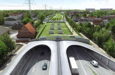 Eco-Friendly Highway Covers - A German City Plans to Bury Its Autobahn Under a Green Park