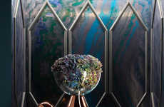 Stylish Luxe Housewares - The Latest Tom Dixon Home Collection is Dark and Shiny